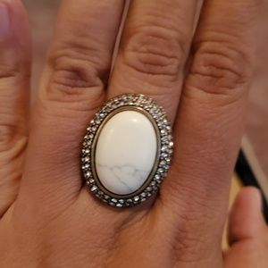 Chloe and isabel white ring